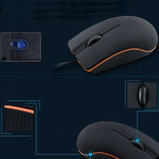Wired USB Optical Gaming Mouse Scroll Wheel Mice For PC Laptop Computer Desktop