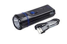 NightSearcher PowerStar 6 Mode Rechargeable LED Flashlight Torch 180 Lumens