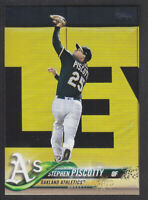 Topps Update 2018 - Base US259 Stephen Piscotty - Oakland Athleics
