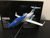 Ebbro 1/144 Scale Full Metal Model Hondajet Honda N420EX Airplane Blue/White