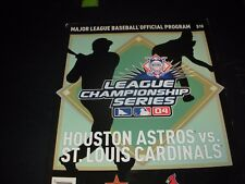 2004 Major League NL Championship Series Official Program-Astros vs Cardinals