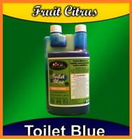 Toilet Blue Caravan&Motorhome Camperlife 40 Doses Per Bottle FruitCitrus Scented