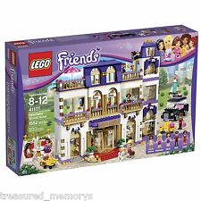 LEGO Friends Heartlake Grand Hotel Kids Building Block Toy Set Kit New Free Ship