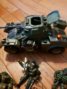Vintage Green Army Men Lot With M555 Tank