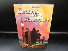 The Nonborn King & The Adversary JULIAN MAY vintage hardcover sci-fi book 1983