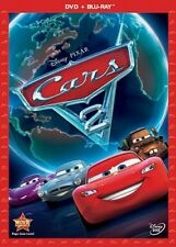 Disney Pixar Cars 2 DVD & Blu-ray 2-Disc Combo Pack w/Slip Cover
