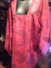 Antique Vintage Japanese Silk Vintage Hapi Short Kimono Jacket