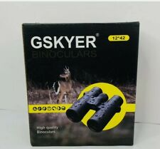 Gskyer High Quality Binoculars 12 x 42 Cell Phone Holder Hunting Bird Watching