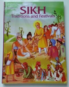 Sikh Kids Stories Sikh Traditions and Festivals book colour photos in English