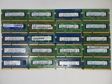 Lot of 20 1GB PC3-10600S Laptop Memory DDR3 RAM Mixed Brands 84384AL