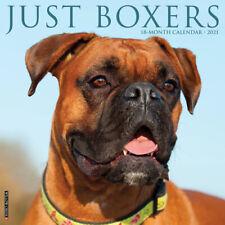 Just Boxers (dog breed calendar) 2021 Wall Calendar(Free Shipping)
