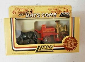 Lledo Days Gone Diecast Model Vehicles | London Fire Brigade Horse Drawn | New