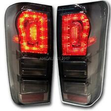 Fit 11-2015 Isuzu Dmax D-Max Holden Tail Lamp Tail light Led Blk Pair Pickup