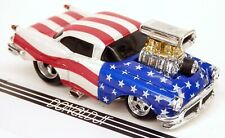 Muscle Machines 1956 Oldsmobile 88 Stars & Stripes '56 Olds 1/64 Scale