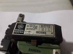 General Electric CR205K0 Nema Size 1 Contactors