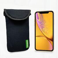 Komodo Apple iPhone XR Neoprene Case Sock Phone Pouch Smartphone Cover Black New