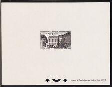 épreuve de luxe   hotel des postes Paris    de  1963   num: 1387