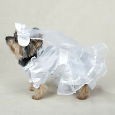 Casual Canine WEDDING GOWN BRIDE DRESS  Dog Pet Halloween Costume FORMAL WEAR