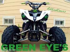 YAMAHA RAPTOR 660 NEW GREEN Eyes HEADLIGHT COVERS