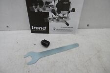 """TREND 1/4"""" COLLET + COLLET NUT  &   SPANNER  TAKEN FROM A T5E ROUTER CNS/T5/635"""