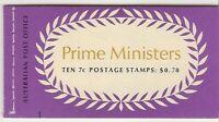 B137 70C Prime Ministers Booklet muh