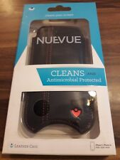 iPhone 5/5s Case Black NueVue Leather