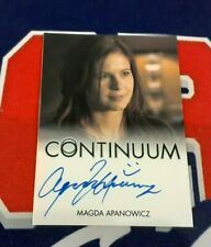CONTINUUM Seasons 1 and 2 Magda Apanowicz as Emily Autograph Card!