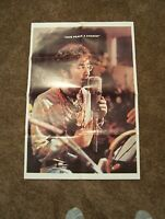 Vintage Original Double Sided Poster, Beatles - John Lennon Give Peace a Chance