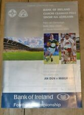 2005 GAA All-Ireland Football Final TYRONE v KERRY Programme