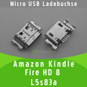 Amazon Kindle Fire HD 8 L5s83a Micro USB Ladebuchse Buchse Port Connector Socket
