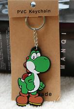12Pcs Super Mario yoshi PVC children's KeyChain Cartoon key chain Party Gifts