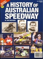 A History of Australian Speedway - Book - by Jim Shepherd
