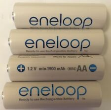 8x Panasonic Eneloop 1900 mAh Rechargeable Batteries AA FREE SHIPPING! Box 4