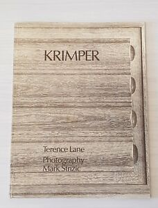 🔴 SCHULIM KRIMPER FURNITURE BOOK TERENCE LANE meadmore featherston snelling era