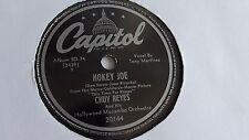 Chuy Reyes - 78rpm single 10-inch – Capitol #21044 Hokey Joe