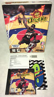 """1996 Acclaim """"NBA Jam Extreme"""" PC CD Game Complete In Big Box!"""