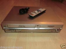 Panasonic dmr-e75v DVD/VHS-Recorder, incl. telecomando, 2j. GARANZIA