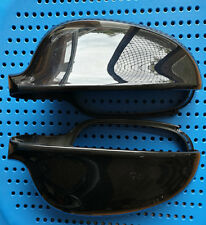 1 Pair MIRROR COVER HOUSING CAP for VW GOLF MK5 MK6 PASSAT JETTA Gloss BLACK