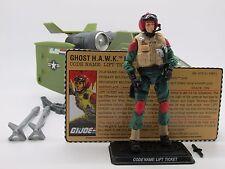 "GI Joe Ghost Hawk & Lift Ticket (v2) 25th Anniversary (2009) 3.75"" Action Figure"