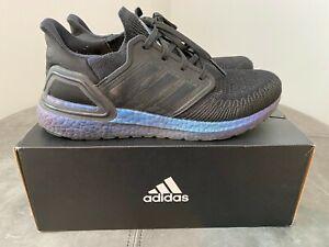 Adidas UltraBOOST 20 Men's Ultra Boost Running Shoe Size 10 EG1341 Black