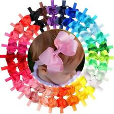 "30 Colors/Pack Baby Girls Headbands 4.5"" Hair Bows HairBands for Infant Toddlers"