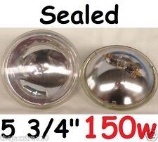 "1pr 150w 5 3/4"" 143mm Sealed Hi Beam Headlights Lights"