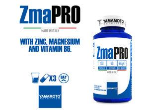 ZMA Pro Yamamoto Nutrition 120 caps Zinc Magnesium and Vitamin b6