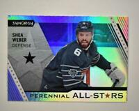 2020-21 UD Synergy Perennial All-Stars #PA-6 Shea Weber - Montreal Canadiens