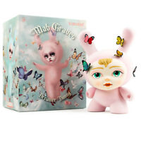 Kidrobot Mab Graves Dreamer Dunny Flocked 8-inch Vinyl Figure PINK LE/1000 NEW
