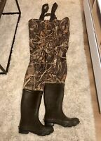 Duck Hunting Waders Game Winner Size 11 Men's Camouflage