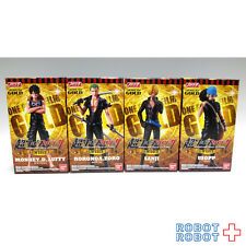 Super ONE PIECE Styling Figure FILM GOLD vol.1 x4 pcs set BANDAI Japan