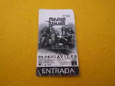 Medina Azahara Aviles 2004 Spain Concert ticket Entrada Ç