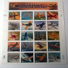 US Postage Stamps 1 Sheet Scott  #3142 CLASSIC AMERICAN AIRCRAFT  32 Cent MNH
