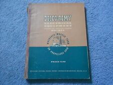 1949 DELCO-REMY ELECTRICAL EQUIPMENT DR-324 SERVICE BULLETINS HANDBOOK ORIGINAL